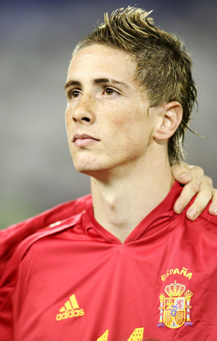 Fernando Torres Short Hairstyles Name Pictures