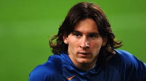 Lionel Messi Long Hair