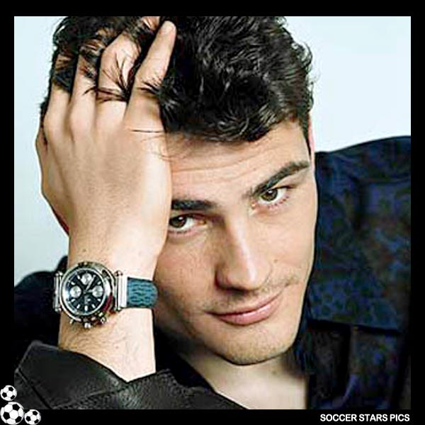 Iker Casillas Hairstyle hair color
