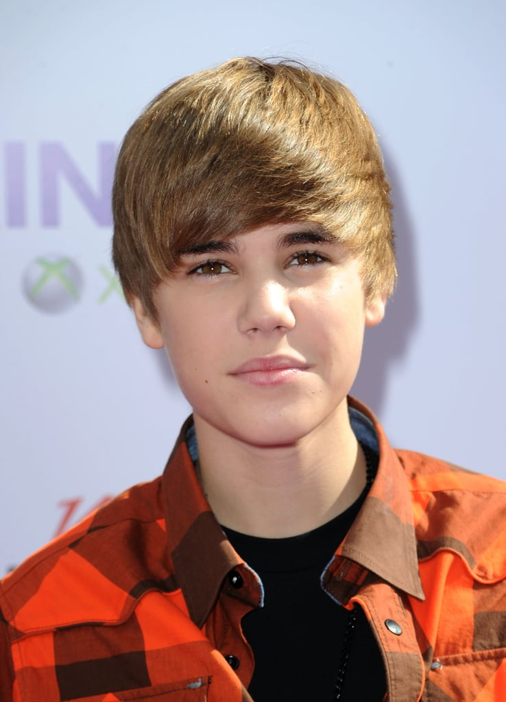 Young Justin Bieber Hair